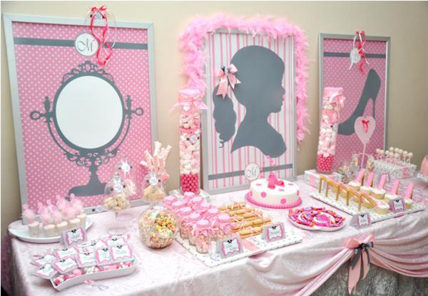 Girly Th Birthday Cake