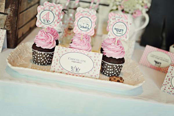 Kara S Party Ideas Pink Girly Farm Barnyard Barn Themed