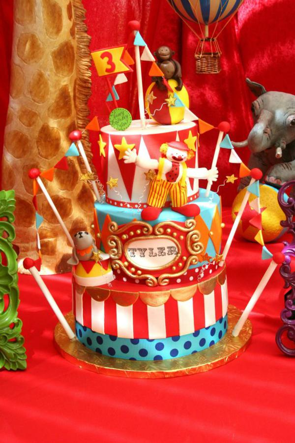 Karas Party Ideas Circus Carnival Extravaganza Birthday Party