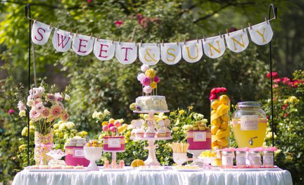 Kara s party ideas sweet and sunny lemonade 10th birthday party kara