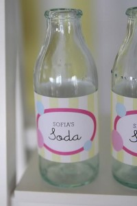 bubble gum soda shoppe birthday party via Kara's Party Ideas KarasPartyIdeas.com #drinks