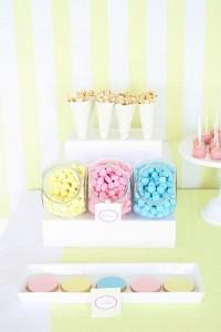 bubble gum soda shoppe birthday party via Kara's Party Ideas KarasPartyIdeas.com #ice #cream