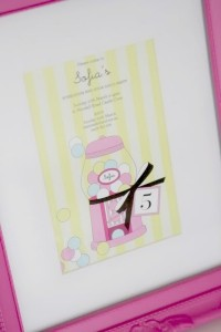 bubble gum soda shoppe birthday party via Kara's Party Ideas KarasPartyIdeas.com #invitation