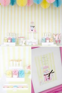 bubble gum soda shoppe birthday party via Kara's Party Ideas KarasPartyIdeas.com