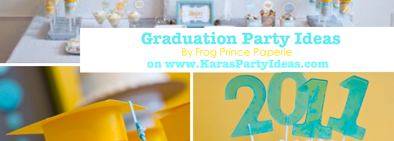 Graduation party + celebration ideas via Kara's Party Ideas | KarasPartyIdeas.com #graduation #class #party #ideas #treats