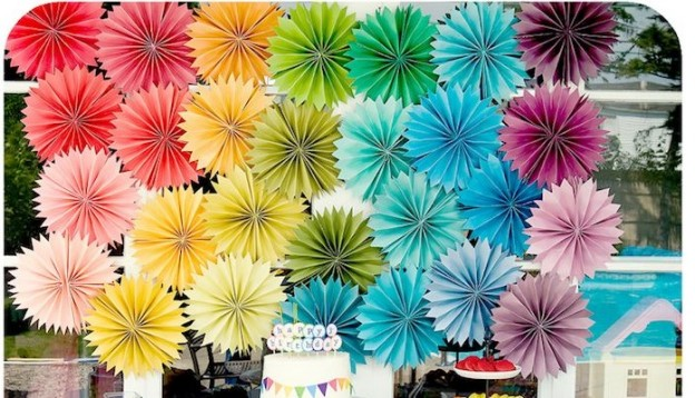 DIY Rainbow party full of ideas! Via Kara's Party Ideas KarasPartyIdeas.com - THE place for all things party!