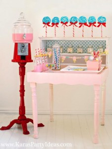 Sweet Shoppe Candy themed birthday party via Kara's Party Ideas karaspartyideas.com #sweet #shoppe #candy #party #dessert #table #birthday #party #ideas #supplies 2 (26)