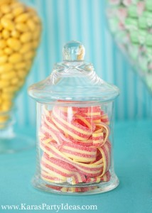 Sweet Shoppe Candy themed birthday party via Kara's Party Ideas karaspartyideas.com #sweet #shoppe #candy #party #dessert #table #birthday #party #ideas #supplies 2 (21)