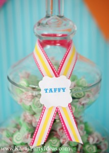 Sweet Shoppe Candy themed birthday party via Kara's Party Ideas karaspartyideas.com #sweet #shoppe #candy #party #dessert #table #birthday #party #ideas #supplies 2 (11)