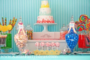 Sweet Shoppe Candy themed birthday party via Kara's Party Ideas karaspartyideas.com #sweet #shoppe #candy #party #dessert #table #birthday #party #ideas #supplies 2 (8)