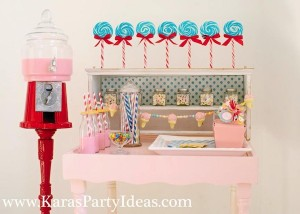 Sweet Shoppe Candy themed birthday party via Kara's Party Ideas karaspartyideas.com #sweet #shoppe #candy #party #dessert #table #birthday #party #ideas #supplies 2 (5)