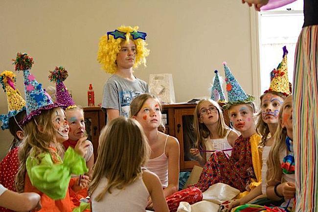 Kara S Party Ideas Clown School 9th Birthday Party Kara