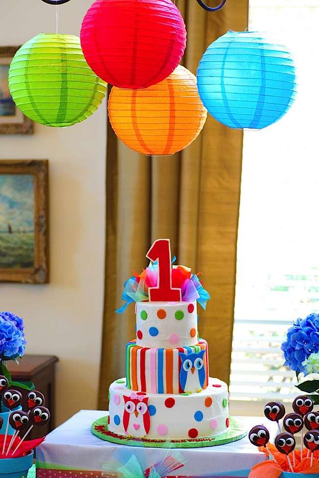 decoracion fiestas infantiles con lamparas de papel
