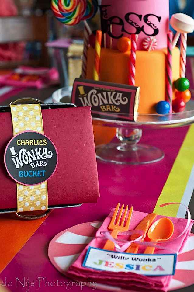 Charlie And The Chocolate Factory Party Themes