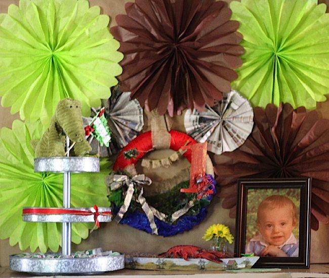 Kara S Party Ideas Alligator Bayou Swamp Birthday Party