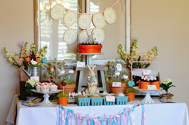 Kara S Party Ideas Easter Peter Rabbit Party Ideas