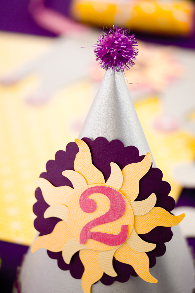 Karas Party Ideas Tangled Rapunzel Theme 2nd Birthday Princess