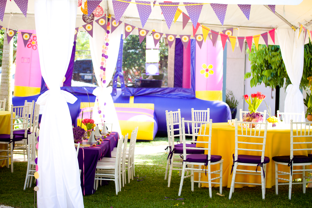 Kara 39 s party ideas tangled rapunzel theme 2nd birthday for 2nd birthday decoration ideas