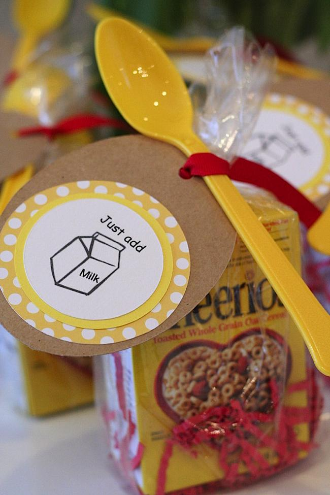Kara S Party Ideas Cheerios Themed First Birthday Party