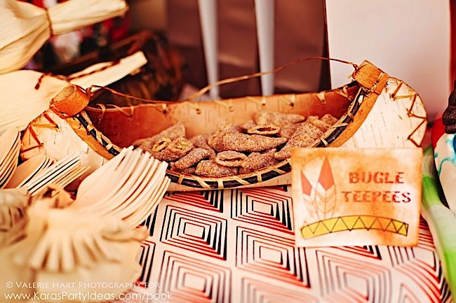 Pow wow indian boho themed birthday party via Kara's Party Ideas KarasPartyIdeas.com