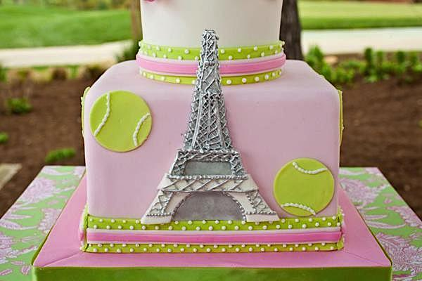 Kara S Party Ideas French Open Tennis Themed Paris