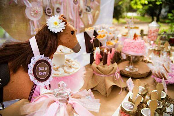 This adorable PONY THEMED 3RD BIRTHDAY PARTY was submitted by Shannon ...