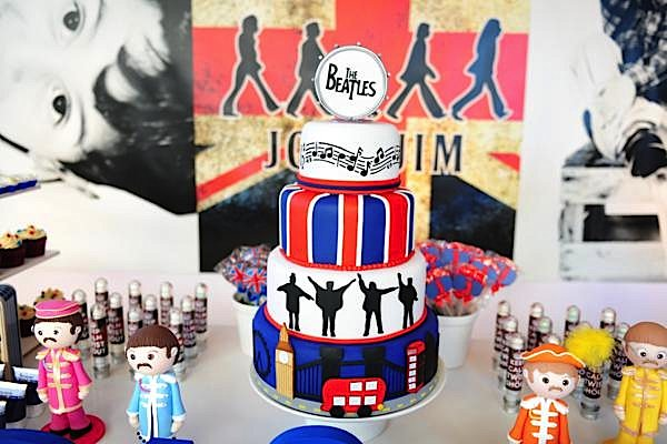 Kara's Party Ideas 'The Beatles' Rock Star Birthday Party