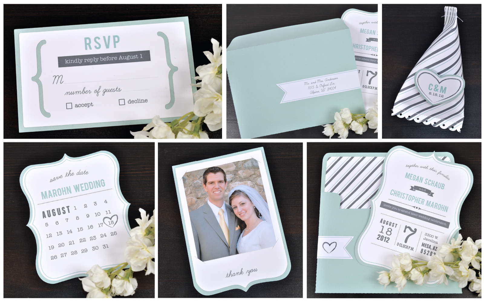 Instructions On How To Make These Diy Wedding Invitations