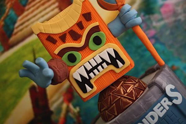 Karas Party Ideas Skylanders Birthday