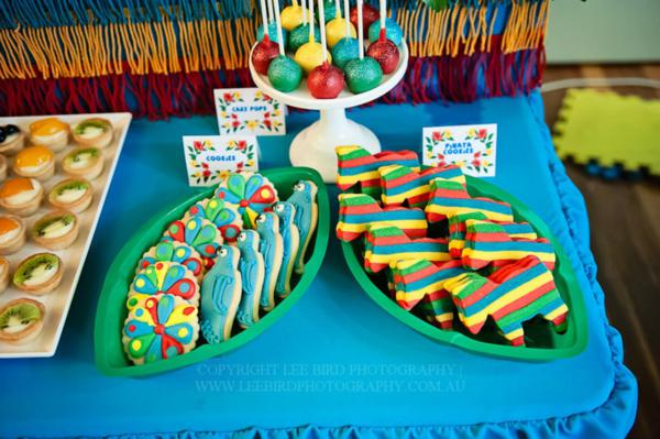 Kara S Party Ideas Quot Rio Quot Themed 4th Birthday Jungle Bird