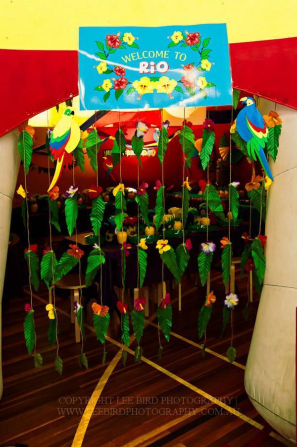 kara u0026 39 s party ideas  u0026quot rio u0026quot  themed 4th birthday jungle  bird