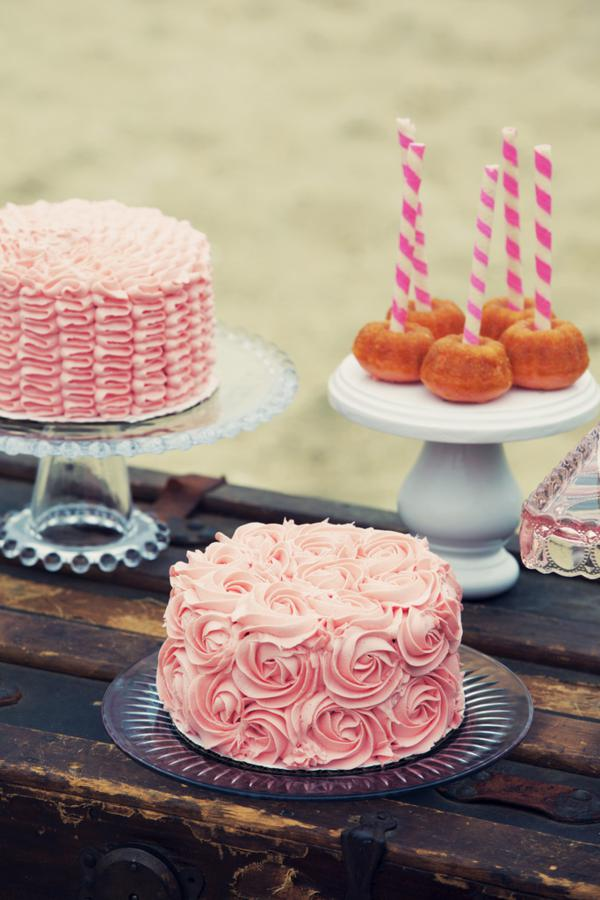 ... Party Ideas Shabby + Romantic Pink 30th Birthday Party  Karas Party