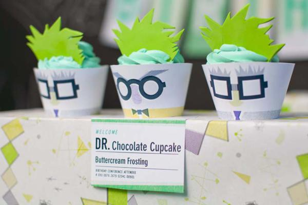 Kara S Party Ideas Mad Science Themed Dessert Table