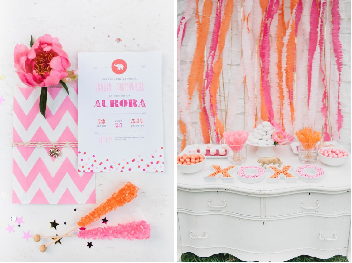Kara\'s Party Ideas Luxe Circus Sip and See Baby Shower | Kara\'s ...