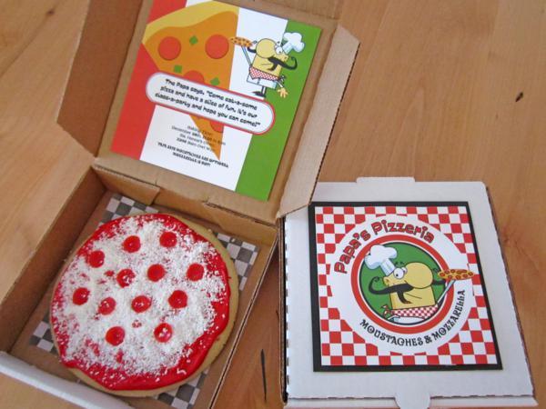 Kara S Party Ideas Pappa S Pizzeria Mustache Pizza Party