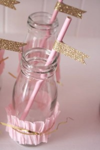 Pinkalicious princess pink and gold birthday party via Kara's Party Ideas KarasPartyIdeas.com #rufflecake #girl #supplies #decorations #ideas #party #pinkgold #pinkalicious #princess