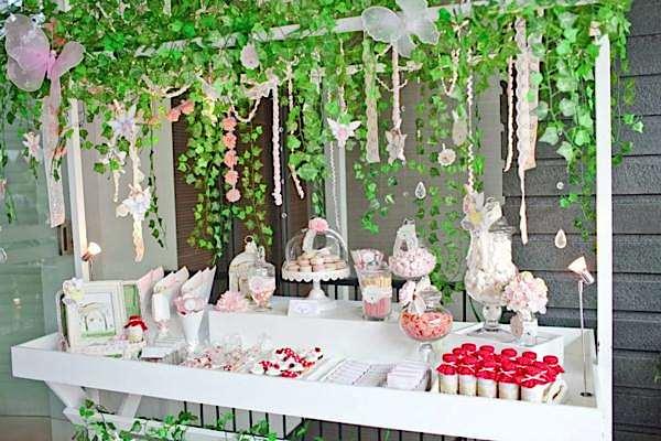 Kara\'s Party Ideas Enchanted Fairy Garden Girl Woodland Birthday ...