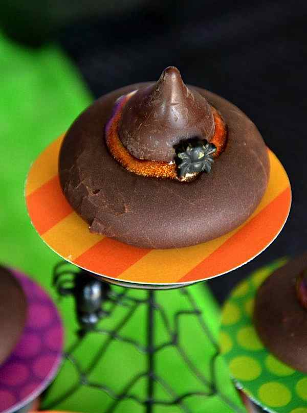 Candy witch hat from The Witch is In Children's Halloween Party at Kara's Party Ideas