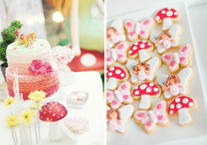 Enchanted Fairy Garden Butterfly Birthday Party via Karas Party Ideas ...
