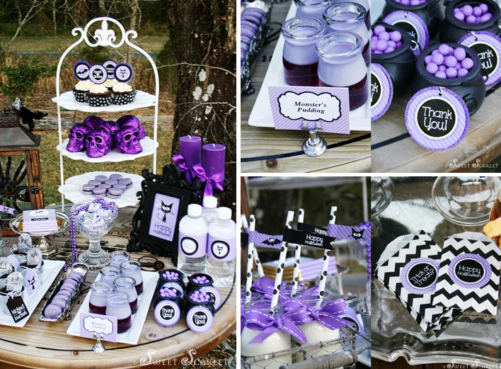 Karas Party Ideas Spookalicious Halloween Sweets Chidlrens Party