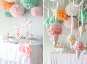 Ice Cream Birthday Party Planning via Kara's Party Ideas - www.KarasPartyIdeas.com