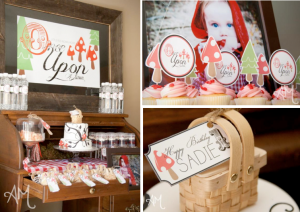 Little Red Riding Hood Once Upon a Time Birthday Party Theme via Kara's Party Ideas - www.KarasPartyIdeas.com