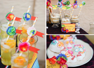Mexican Day Of The Dead Halloween Party Planning via Kara's Party Ideas - www.KarasPartyIdeas.com
