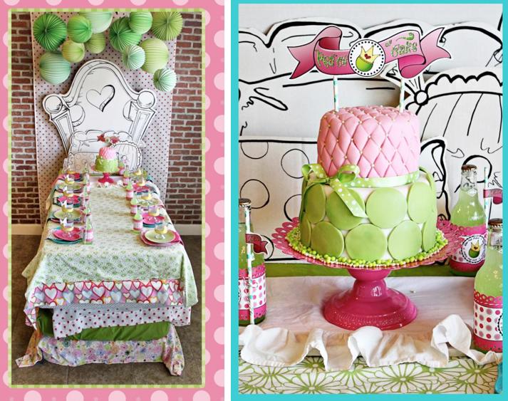 Princess and the Pea Birthday Party Sleepover via Kara's Party Ideas