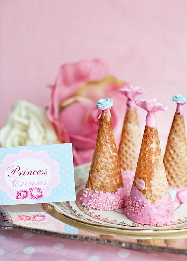 Karas Party Ideas Shabby Chic Princess Girl Pink Vintage