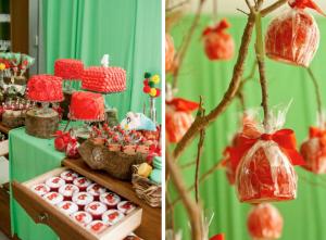 Snow White Princess Themed Birthday Party via Kara's Party Ideas - www.KarasPartyIdeas.com
