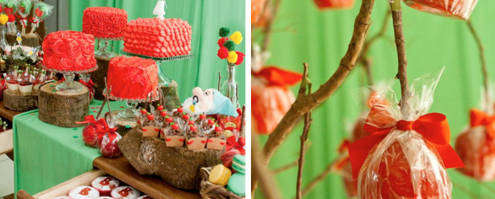 Snow White Princess Themed Birthday Party via Kara's Party Ideas - www.KarasPartyIdeas.com