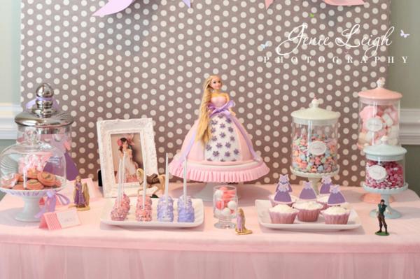 kara s party ideas disney s tangled rapunzel girl princess on tangled rapunzel birthday cake party decorating ideas