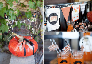 Vintage Halloween Party via Kara's Party Ideas - www.KarasPartyIdeas.com