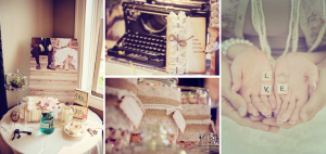 Vintage Shabby Chic + Burlap & Lace Wedding via Kara's Party Ideas - www.KarasPartyIdeas.com